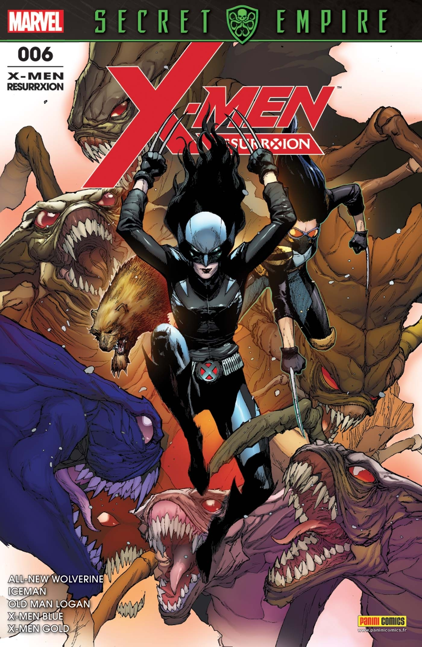 X-MEN : RESURRXION N 6