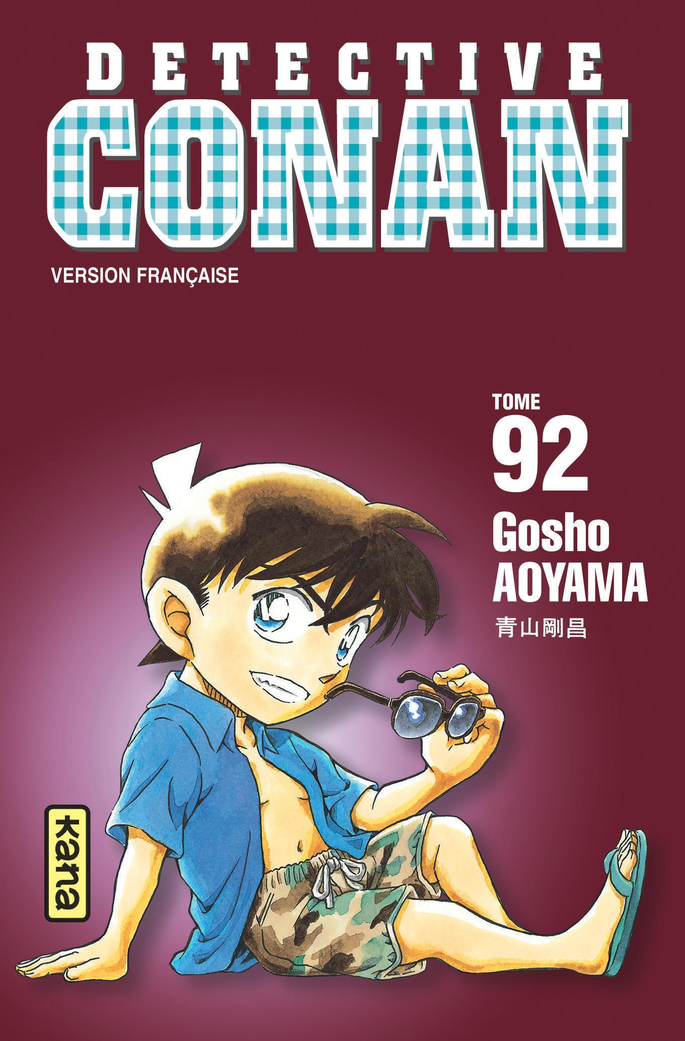 DETECTIVE CONAN, TOME 92