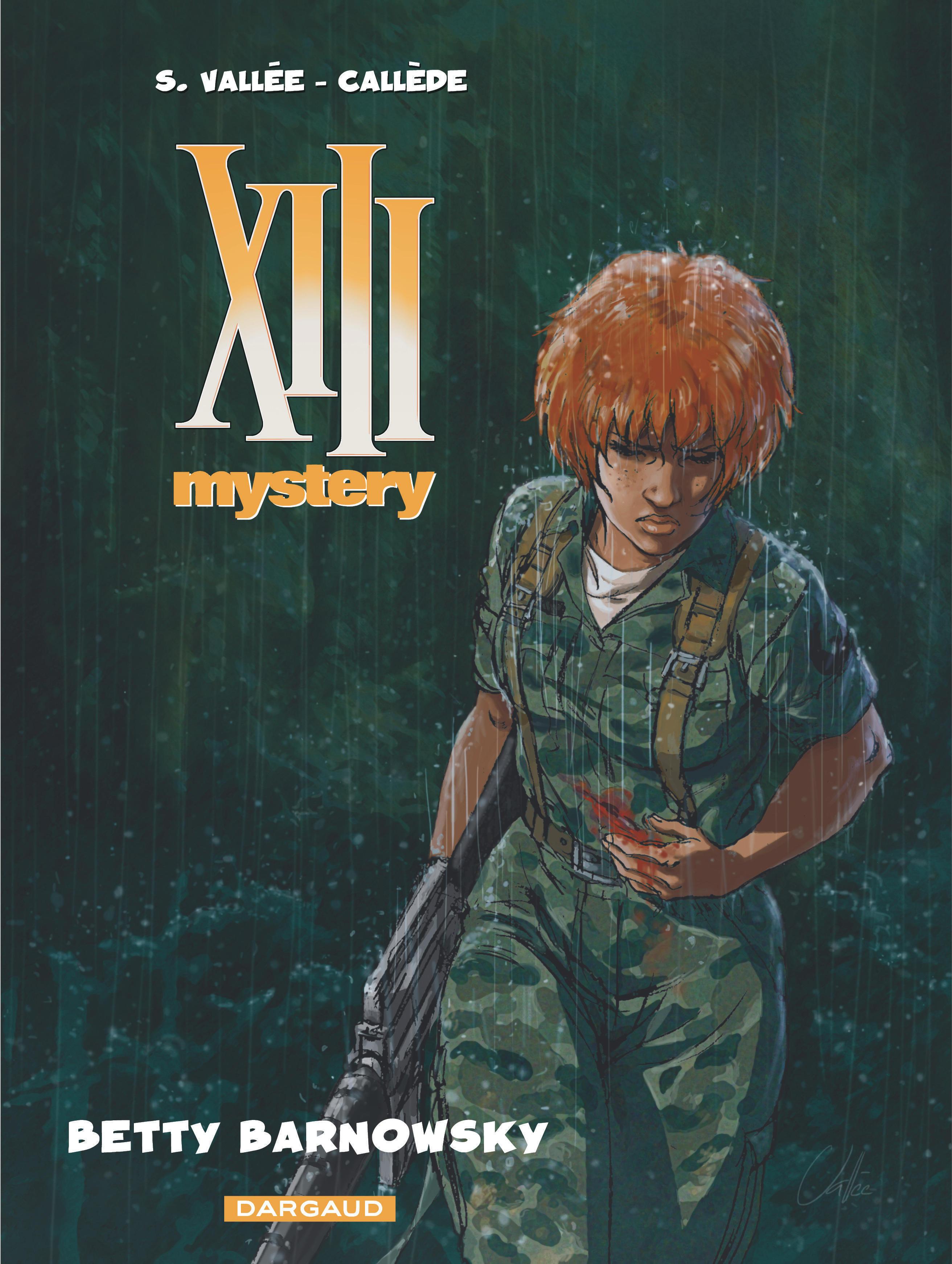 XIII MYSTERY T7 BETTY BARNOWSKY