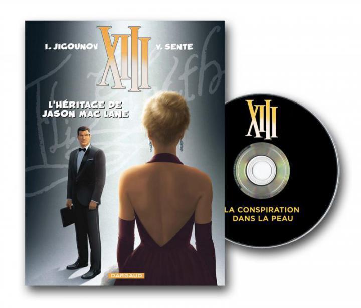 XIII T24 LA CONSPIRATION DANS LA PEAU + DVD