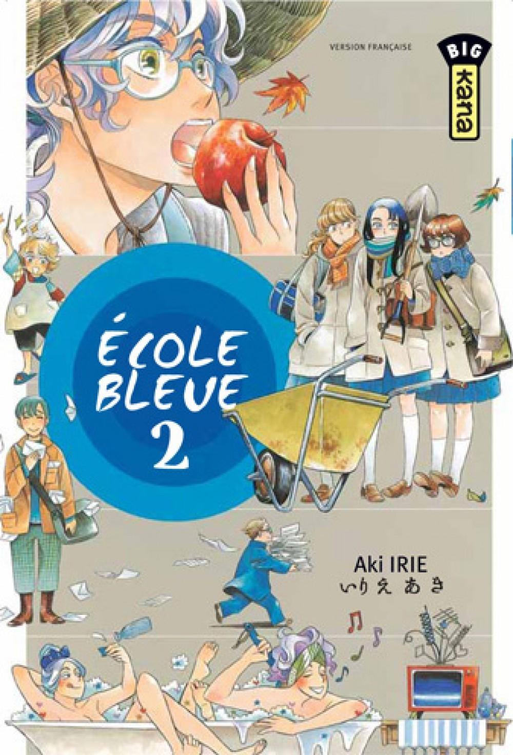 ECOLE BLEUE T2