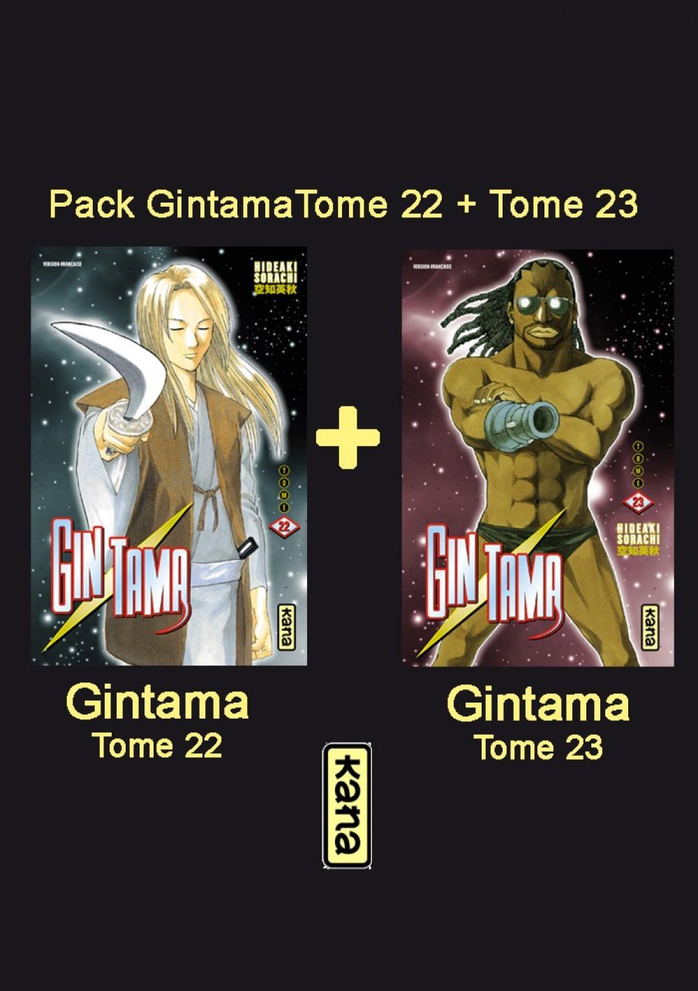 PACK FIDELITE GINTAMA T22+T23