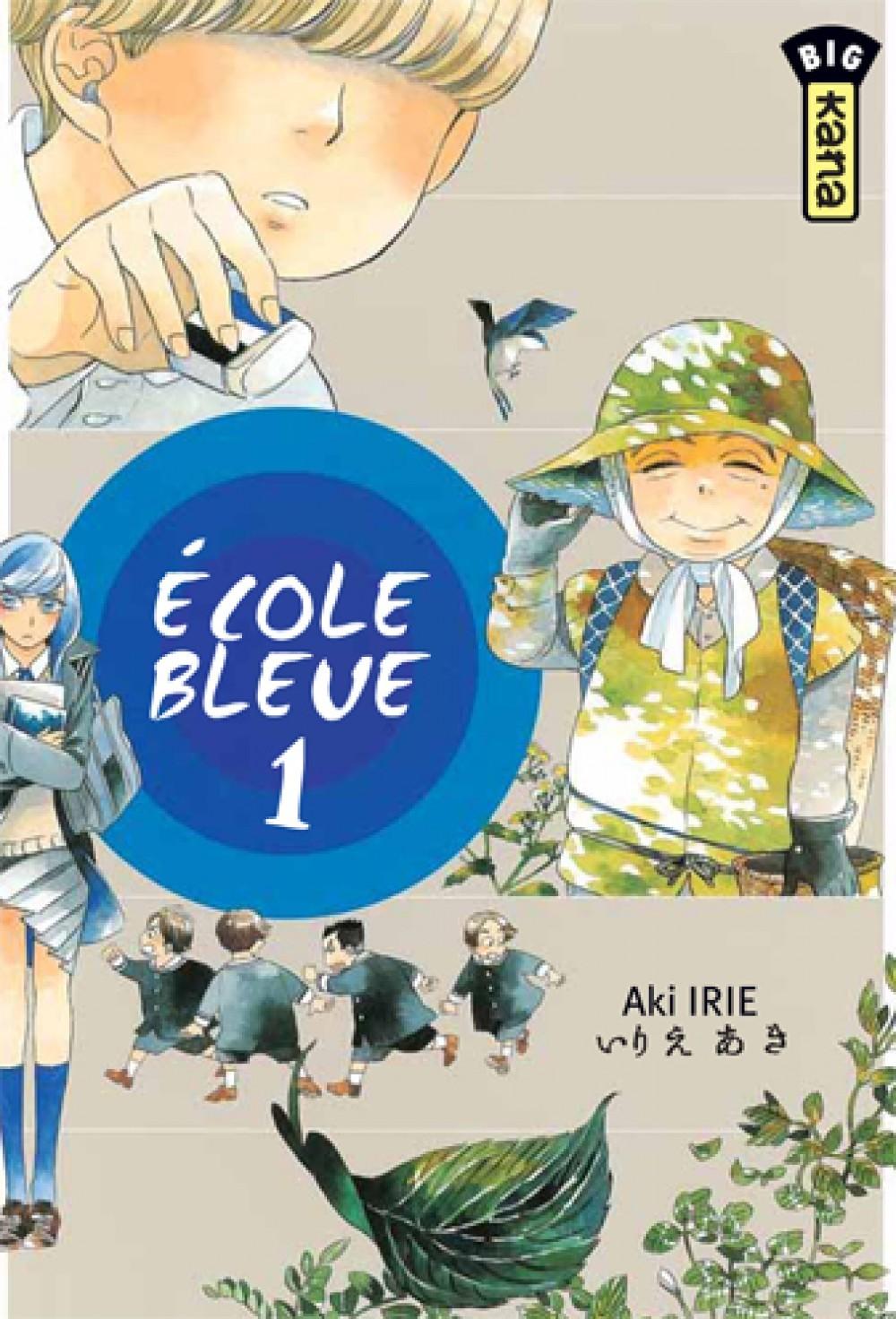 ECOLE BLEUE T1