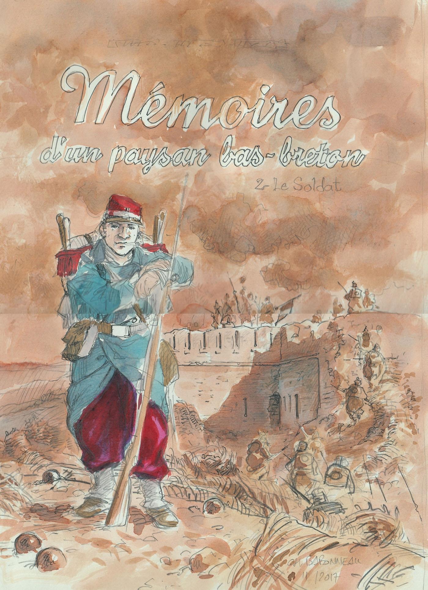 MEMOIRES D'UN PAYSAN BAS-BRETON T02 - LE SOLDAT