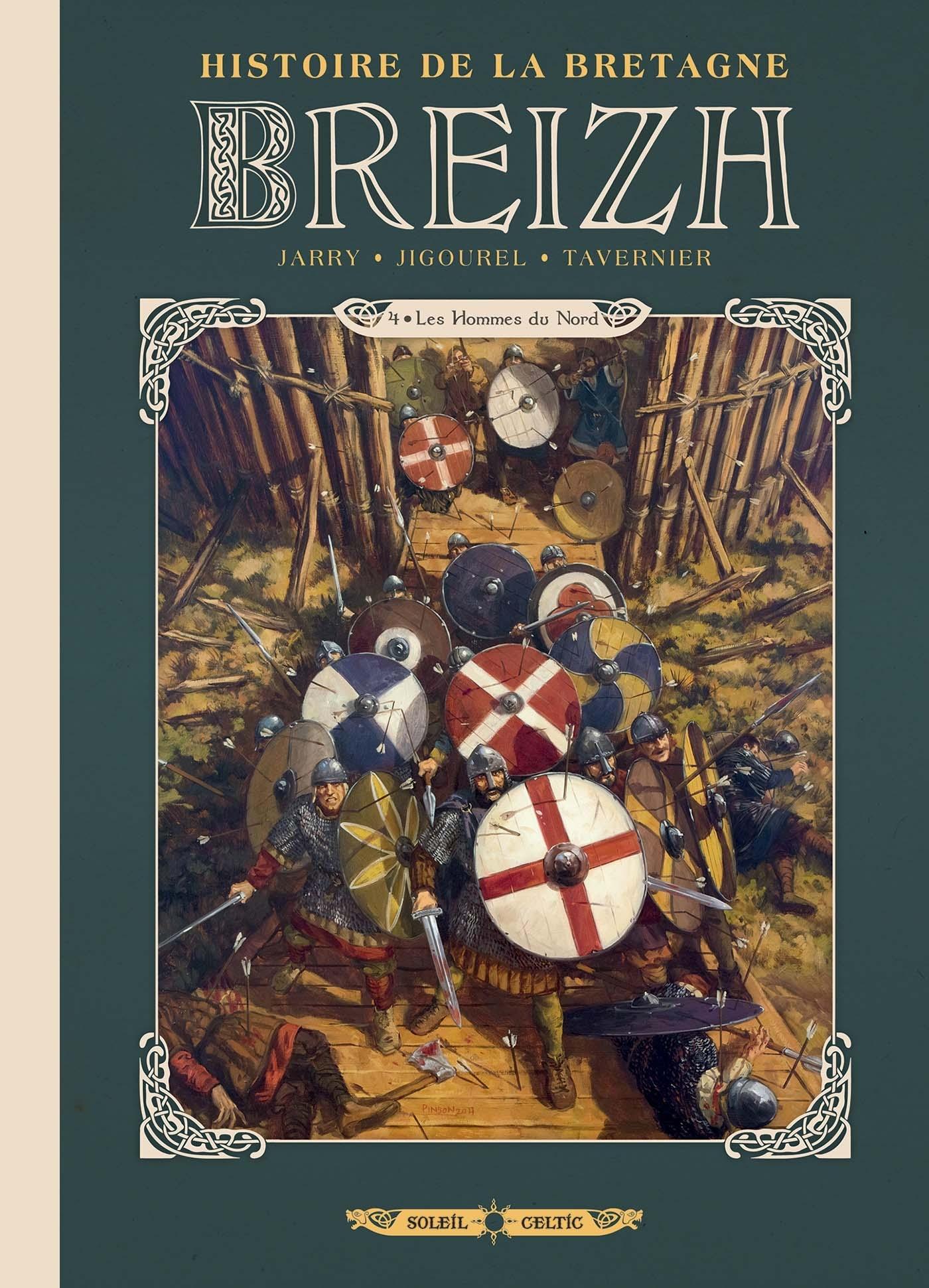 BREIZH HISTOIRE DE LA BRETAGNE T04 - LES HOMMES DU NORD