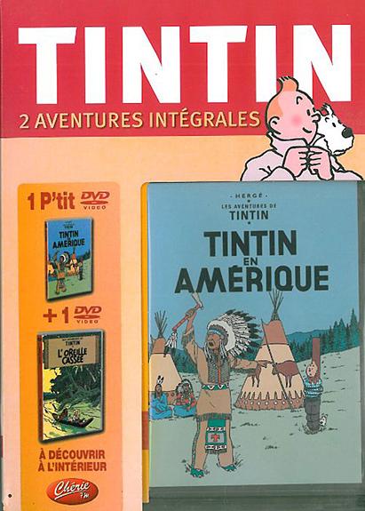 TINTIN EN AMERIQUE - L'OREILLE CASSEE + 1 P'TIT DVD