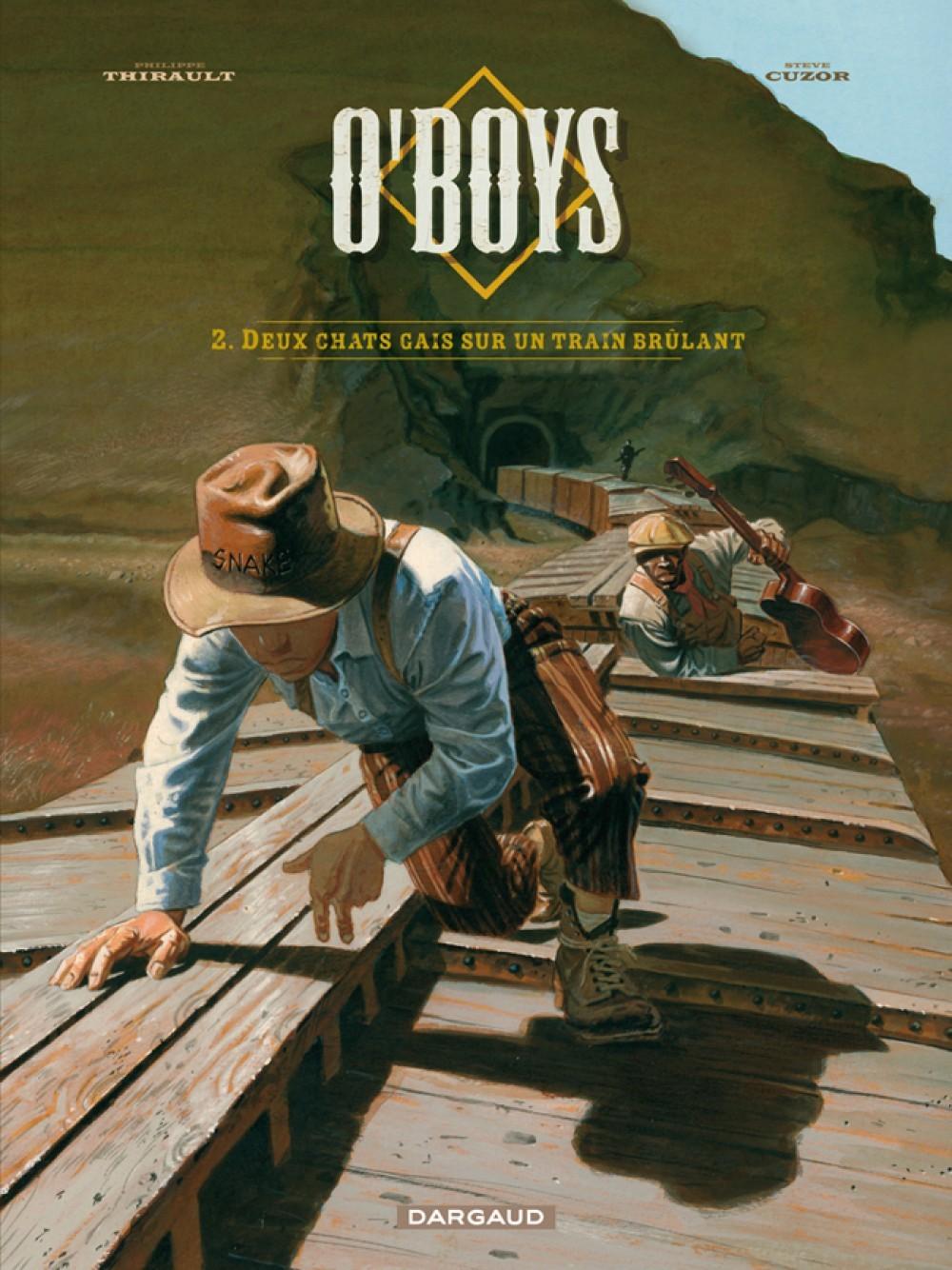 O'BOYS T2 DEUX CHATS GAIS SUR UN TRAIN BRULANT