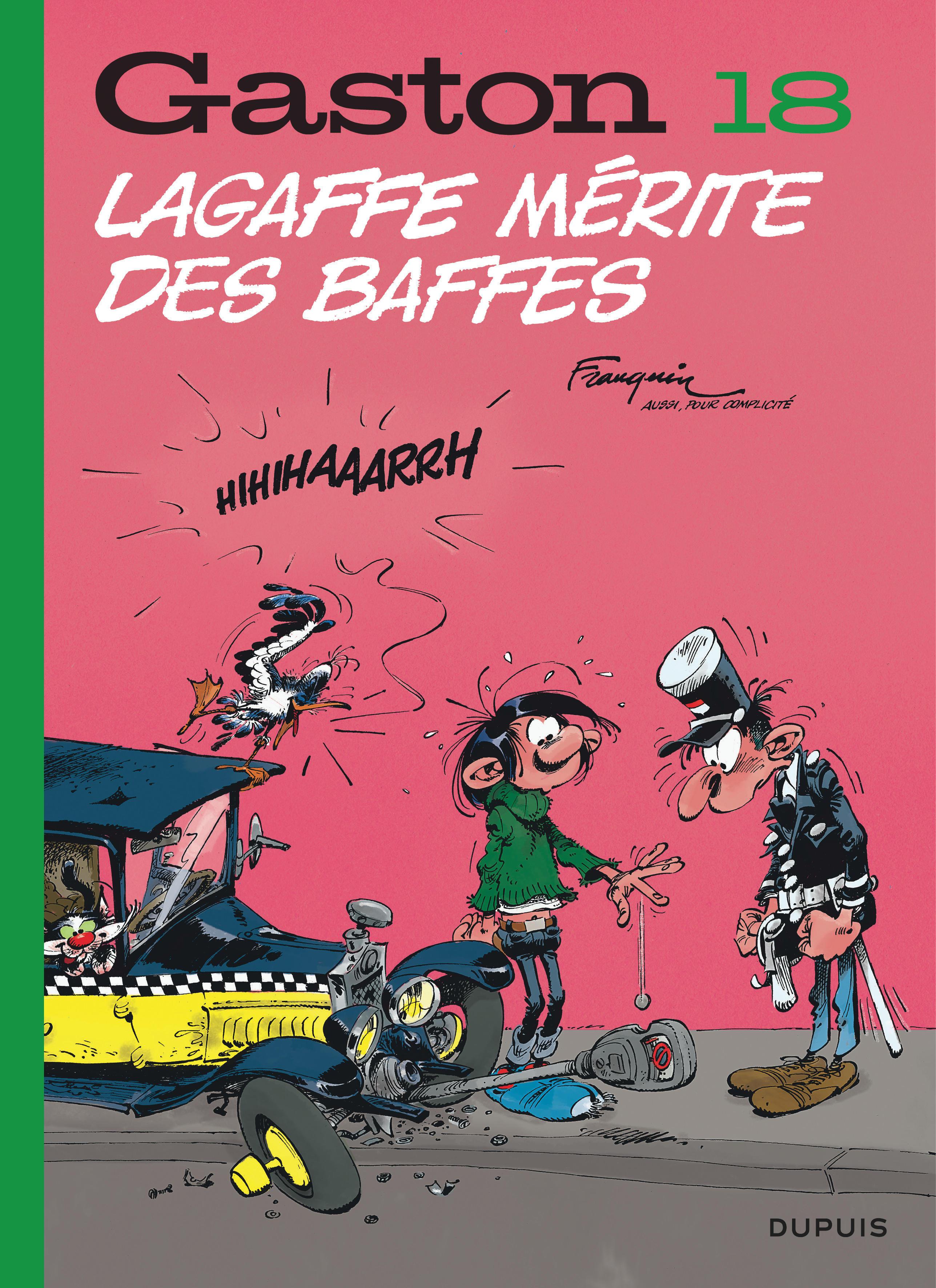 GASTON (EDITION 2018) T18 GASTON (EDITION 2018) - TOME 18 - LAGAFFE MERITE DES BAFFES (EDITION 2018)