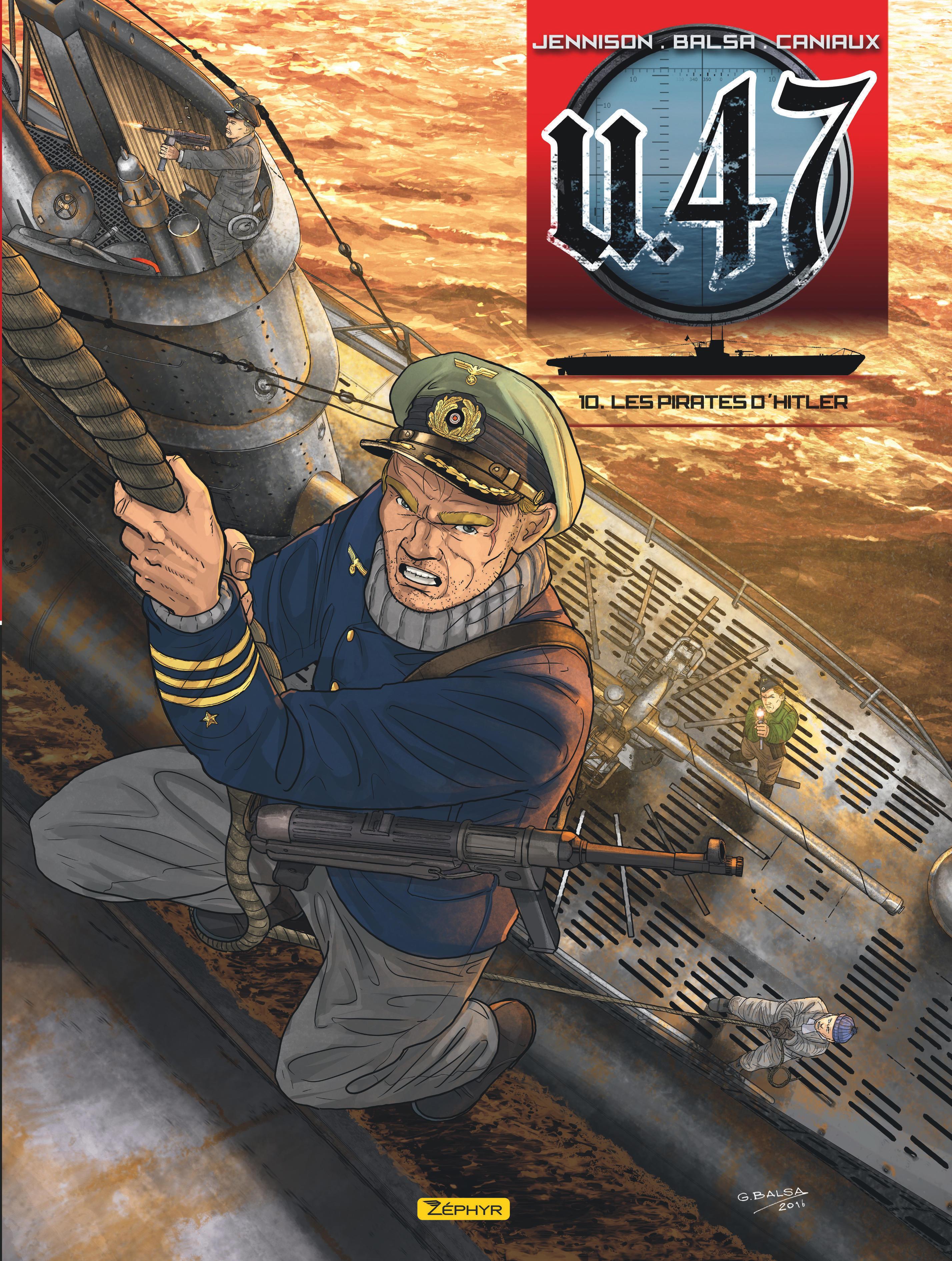 U-47 T10-LES PIRATES D'HITLER BD SEULE