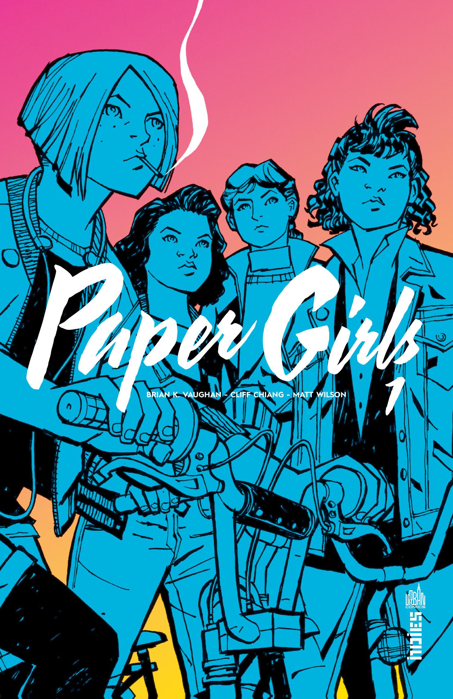 PAPER GIRLS T1
