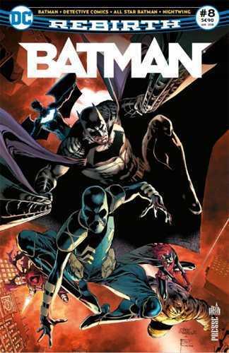 BATMAN REBIRTH 08 LA LIGUE DES OMBRES EST A GOTHAM !