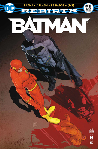 "BATMAN REBIRTH 11 ""LE BADGE"" 1/2"