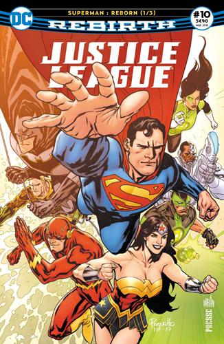 """JUSTICE LEAGUE REBIRTH 10 """"SUPERMAN REBORN"""" 1/3"""