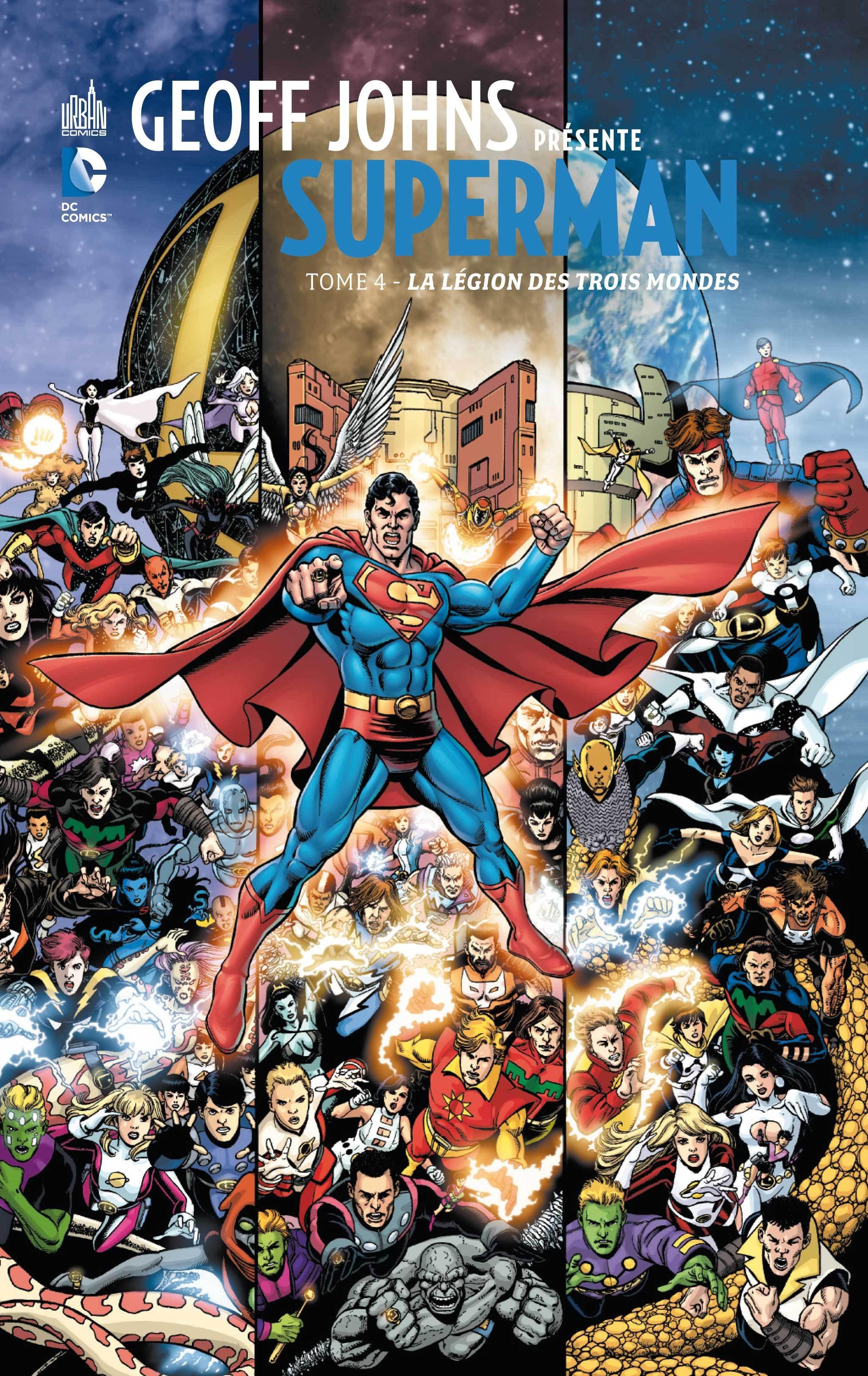 GEOFF JOHNA PRESENTE SUPERMAN T4
