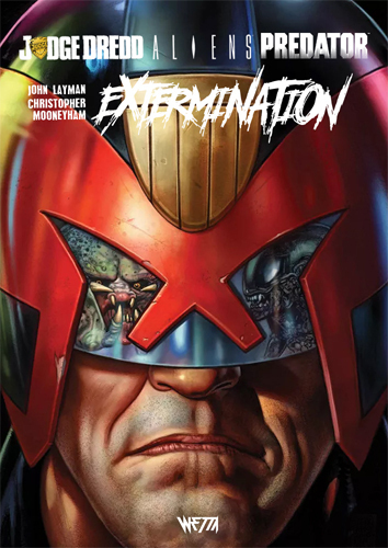ALIENS / JUDGE DREDD / PREDATOR : EXTERMINATION - ED. HARDCORE