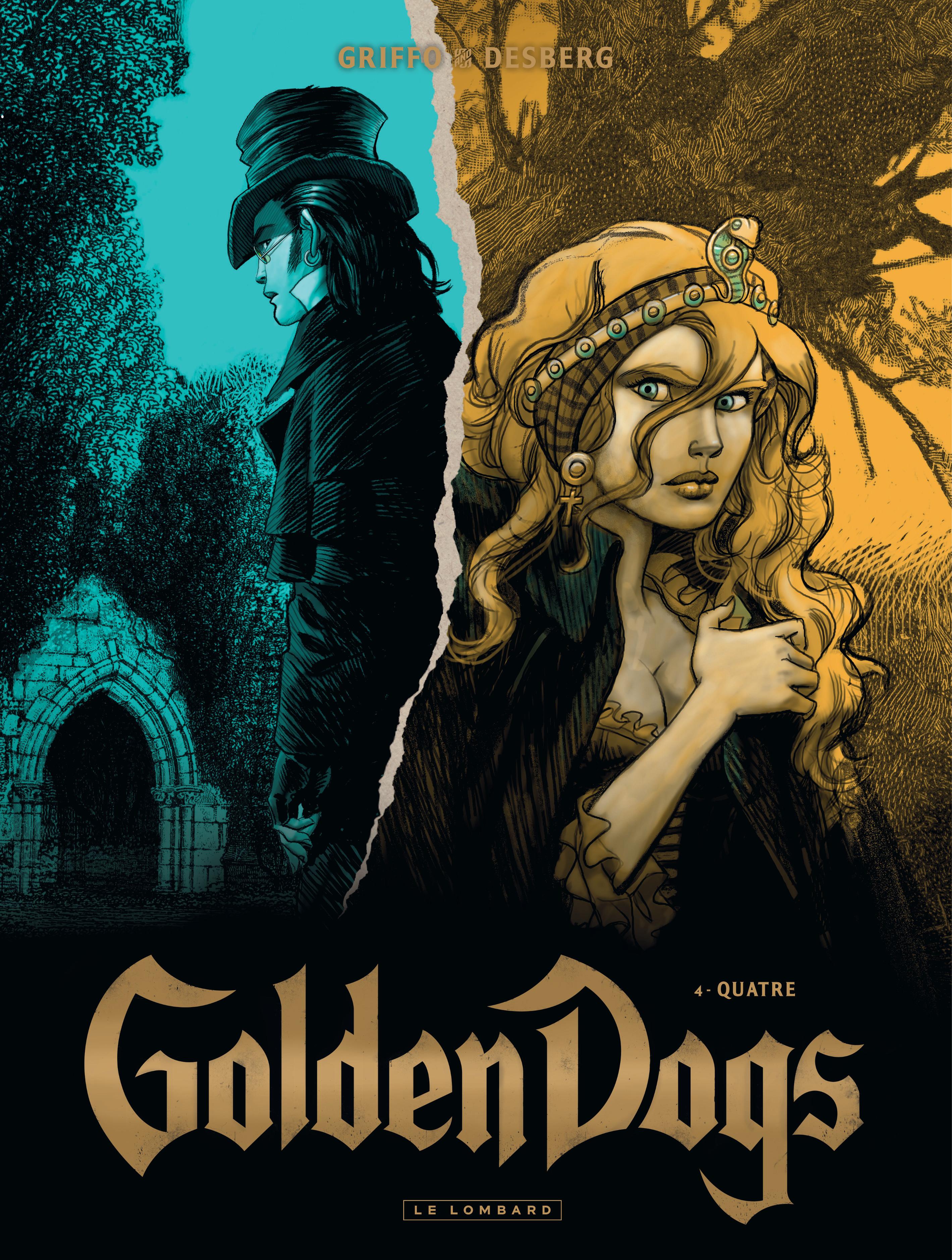 GOLDEN DOGS T4 QUATRE