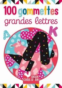 100 GOMMETTES - GRANDES LETTRES