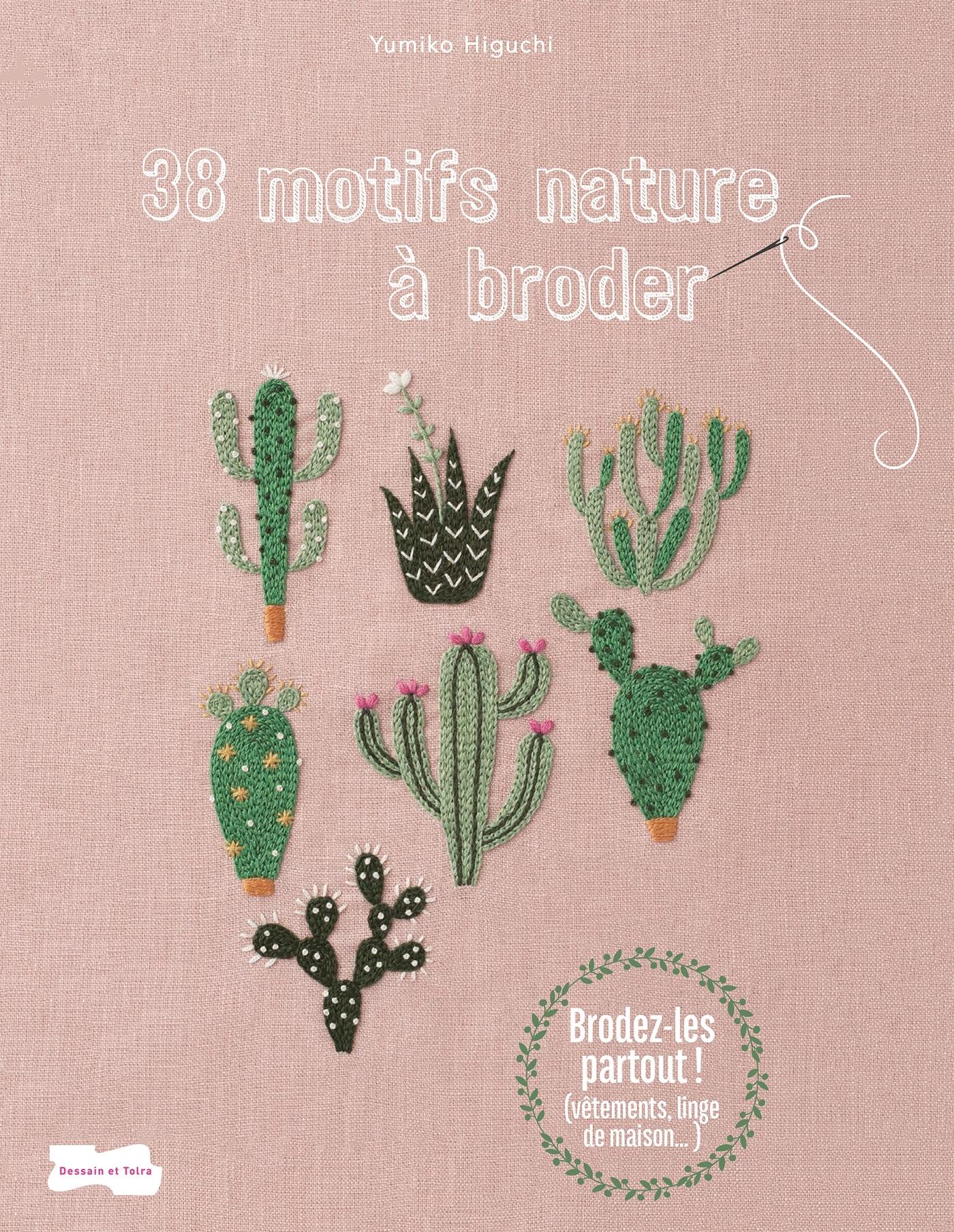 38 MOTIFS NATURE A BRODER