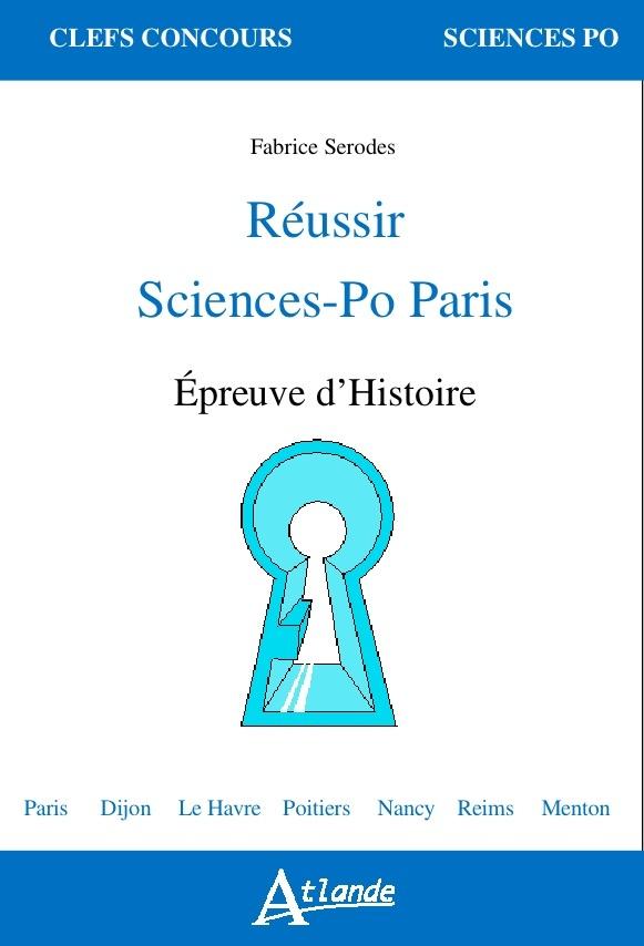 REUSSIR SCIENCES-PO PARIS