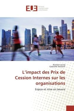 L'IMPACT DES PRIX DE CESSION INTERNES SUR LES ORGANISATIONS