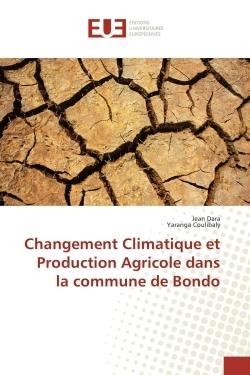 CHANGEMENT CLIMATIQUE ET PRODUCTION AGRICOLE DANS LA COMMUNE DE BONDO