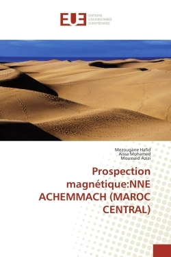 PROSPECTION MAGNETIQUE:NNE ACHEMMACH (MAROC CENTRAL)