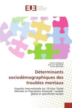 DETERMINANTS SOCIODEMOGRAPHIQUES DES TROUBLES MENTAUX