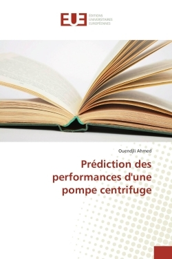 PREDICTION DES PERFORMANCES D'UNE POMPE CENTRIFUGE