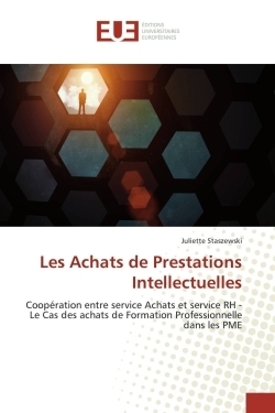 LES ACHATS DE PRESTATIONS INTELLECTUELLES