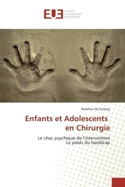 ENFANTS ET ADOLESCENTS EN CHIRURGIE