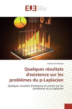 QUELQUES RESULTATS D'EXISTENCE SUR LES PROBLEMES DU P-LAPLACIEN