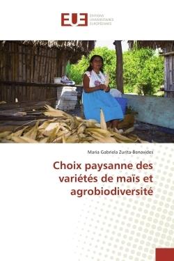 CHOIX PAYSANNE DES VARIETES DE MAIS ET AGROBIODIVERSITE