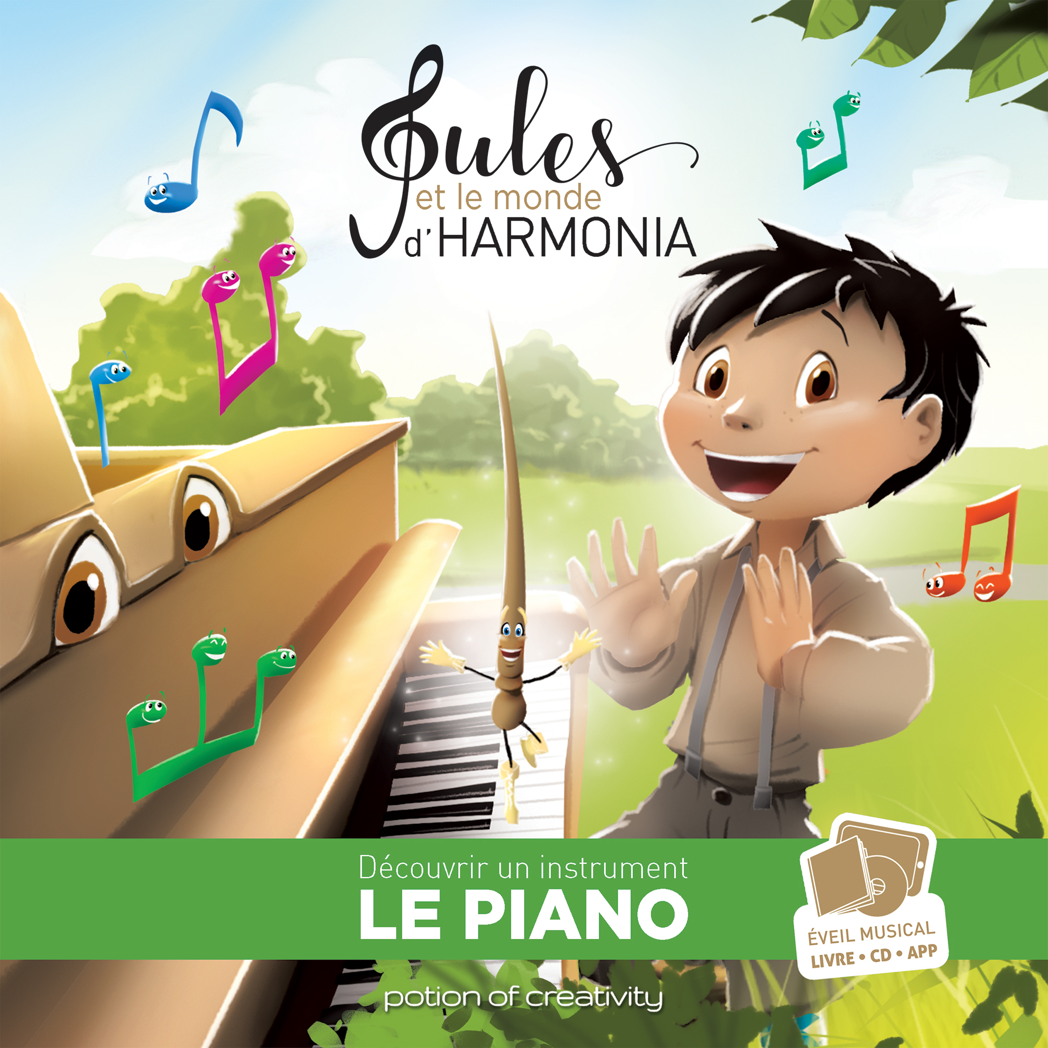 JULES ET LE MONDE D'HARMONIA - EPISODE 1 - LE PIANO
