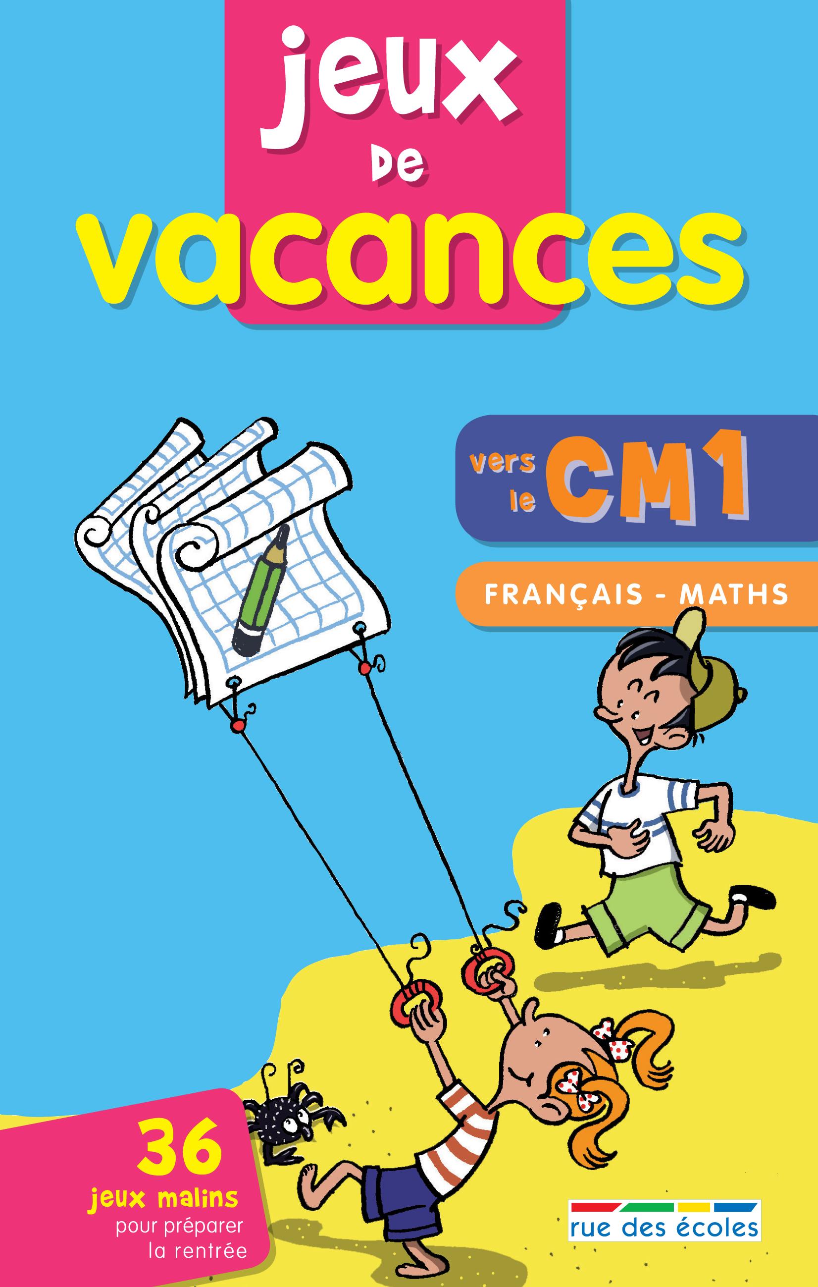 JEUX DE VACANCES VERS LE CM1