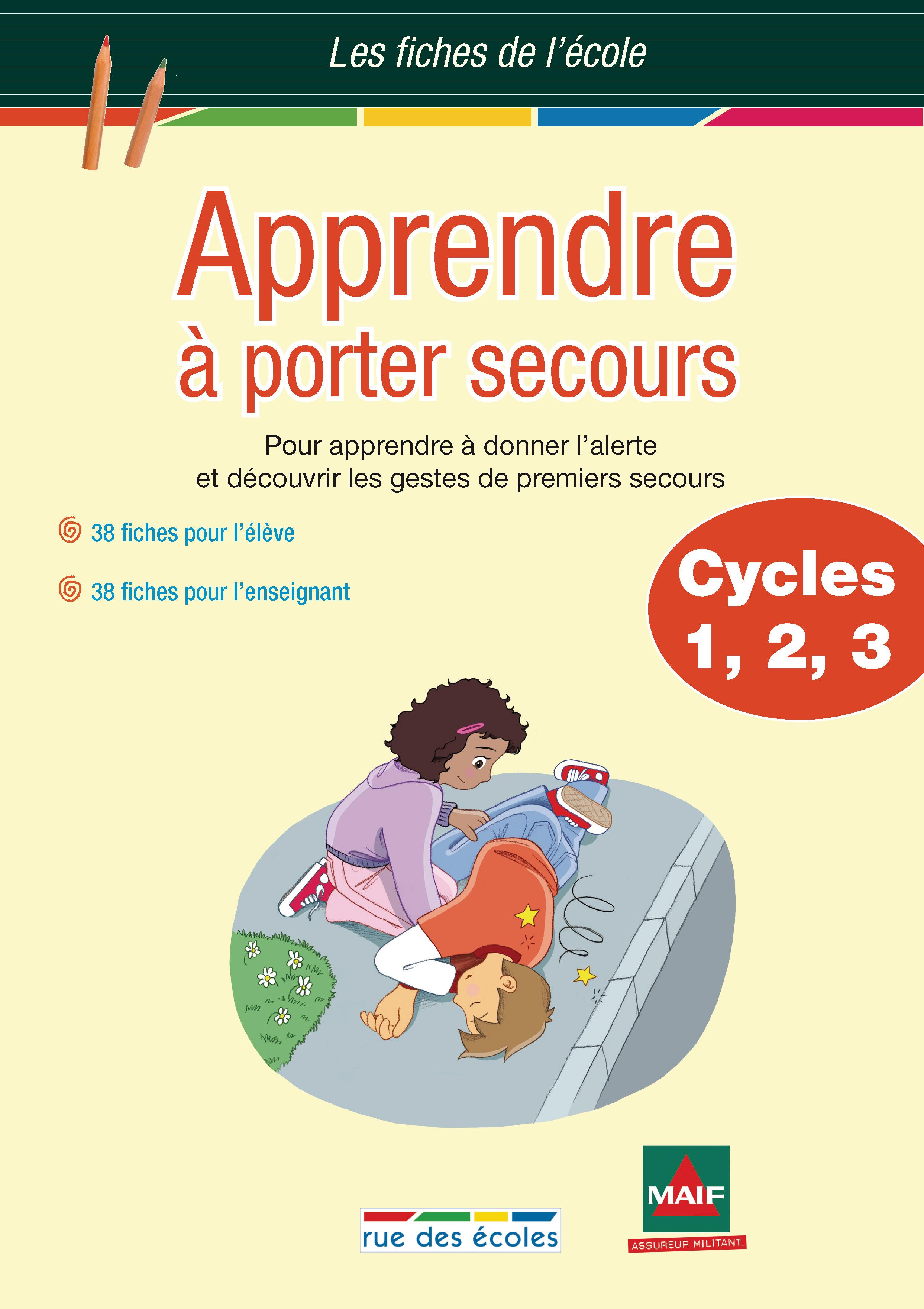 APPRENDRE A PORTER SECOURS CYCLES 1-2-3