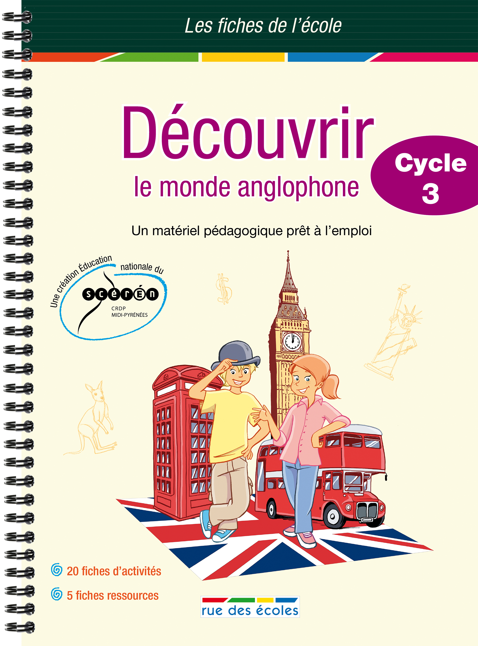DECOUVRIR LE MONDE ANGLOPHONE CYCLE 3