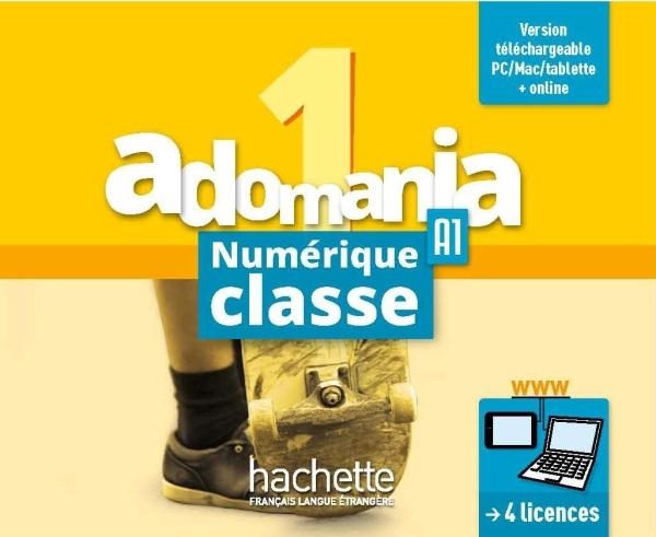 ADOMANIA 1 : MANUEL NUMERIQUE CLASSE