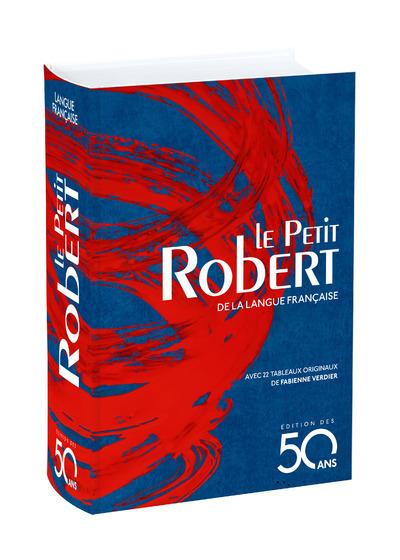 LE PETIT ROBERT DE LA LANGUE FRANCAISE - EDITION DES 50 ANS