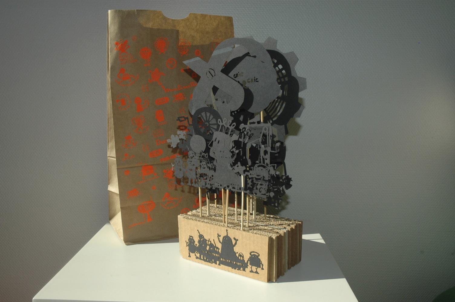 LE P'TIT ROBOT, THEATRE D'OMBRES