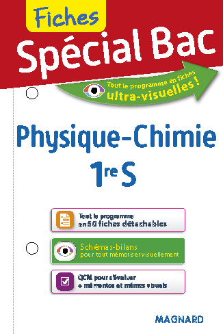 2017 SPECIAL BAC PHYSIQUE CHIMIE 1ER S