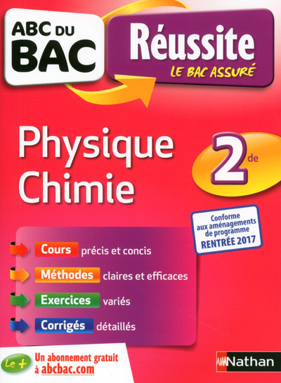 ABC REUSSITE PHYSIQUE CHIMIE 2DE