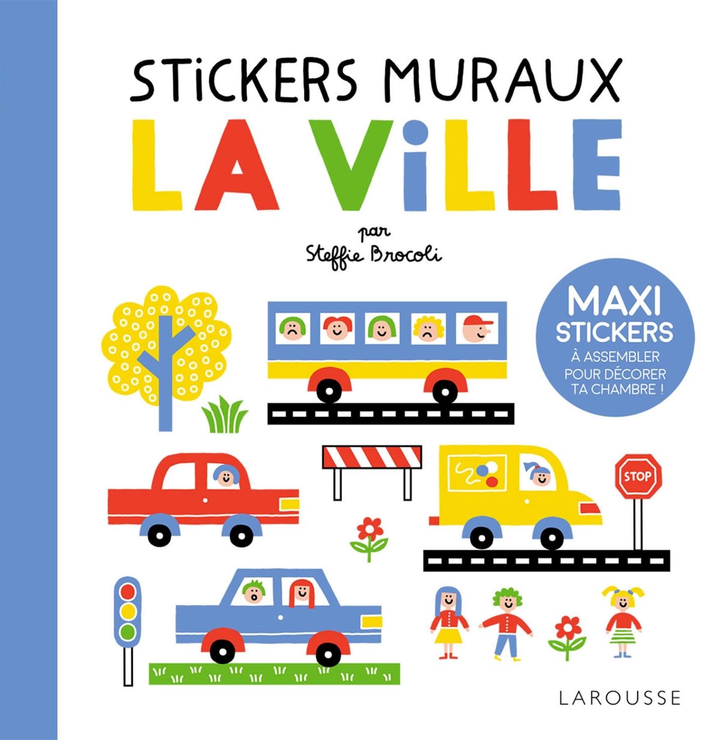 STICKERS MURAUX - LA VILLE
