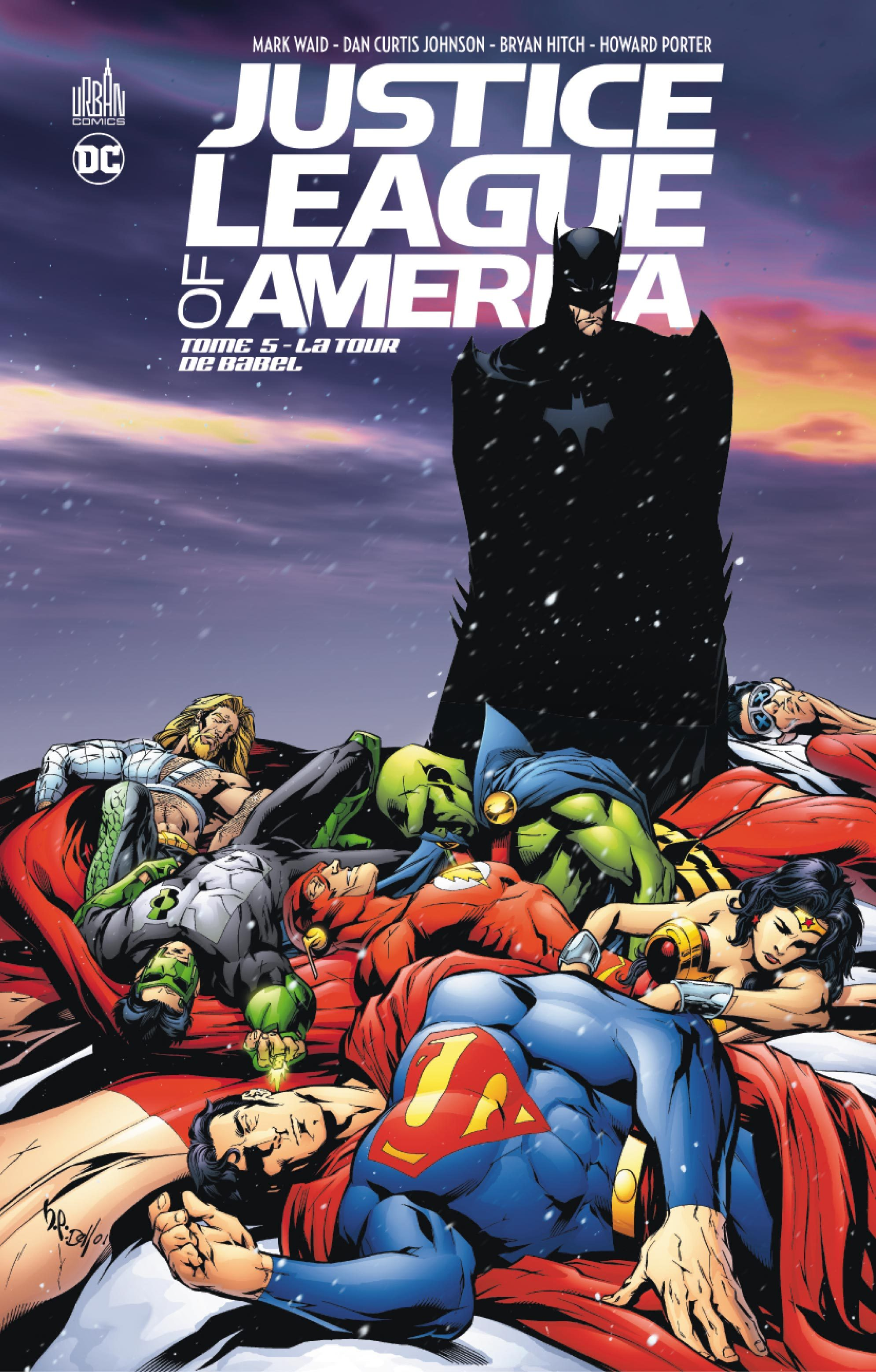 JUSTICE LEAGUE OF AMERICA TOME 5