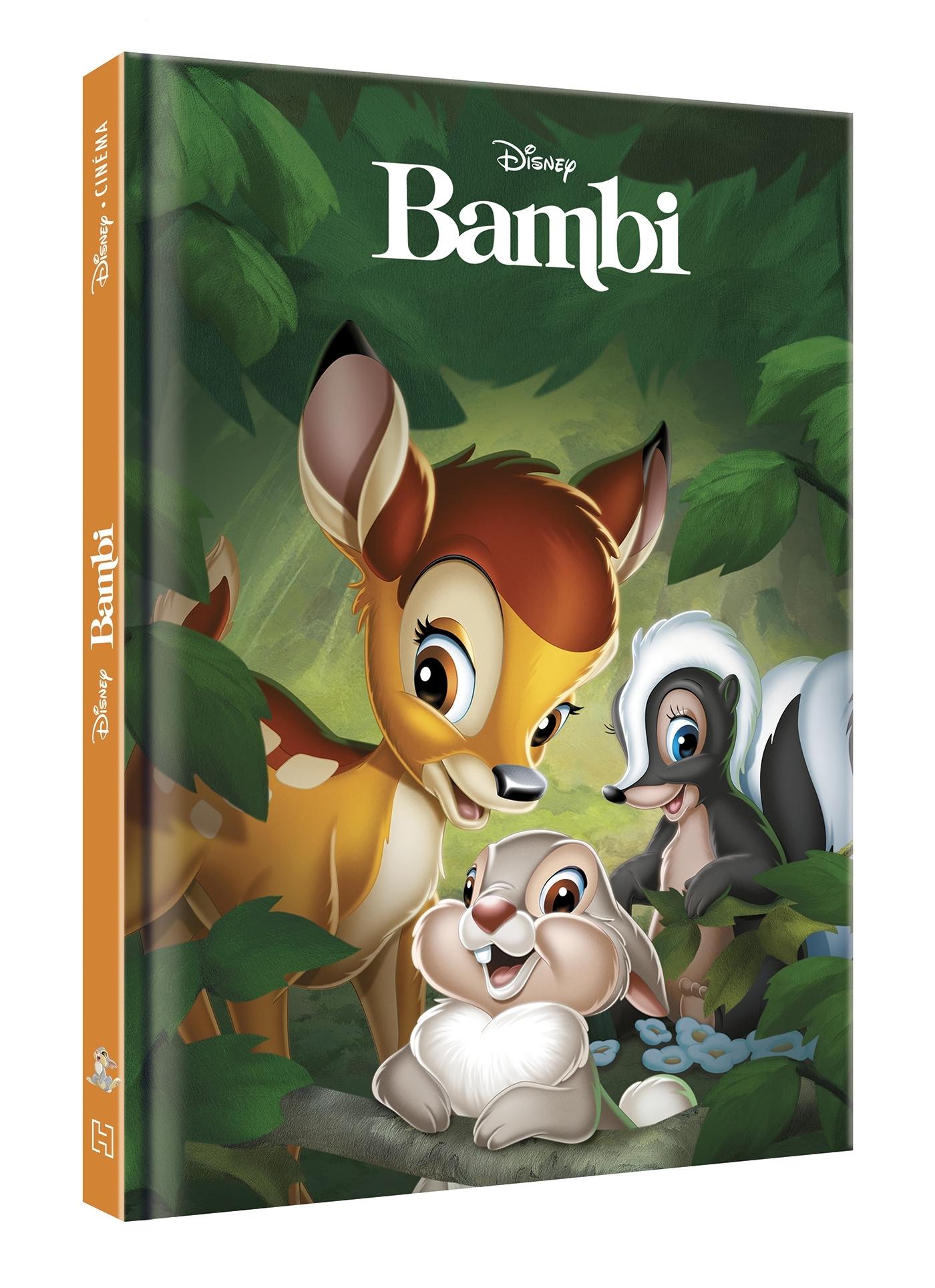 BAMBI - DISNEY CINEMA - L'HISTOIRE DU FILM