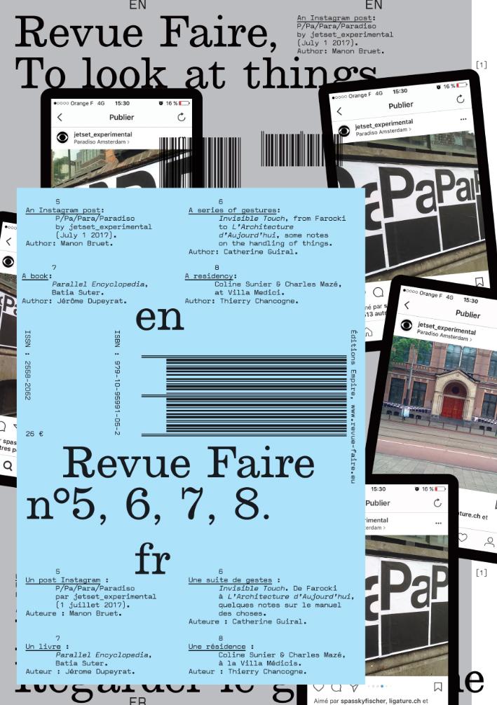 FAIRE - REGARDER LE GRAPHISME - VOLUME 02 (N  5, 6, 7, 8)