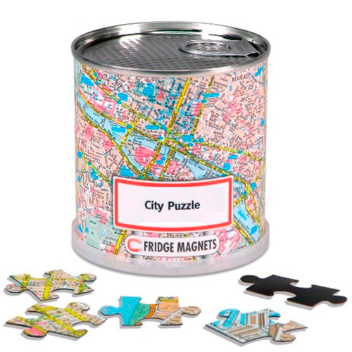 CITY PUZZLE BRUXELLES 100 PIECES MAGNET.