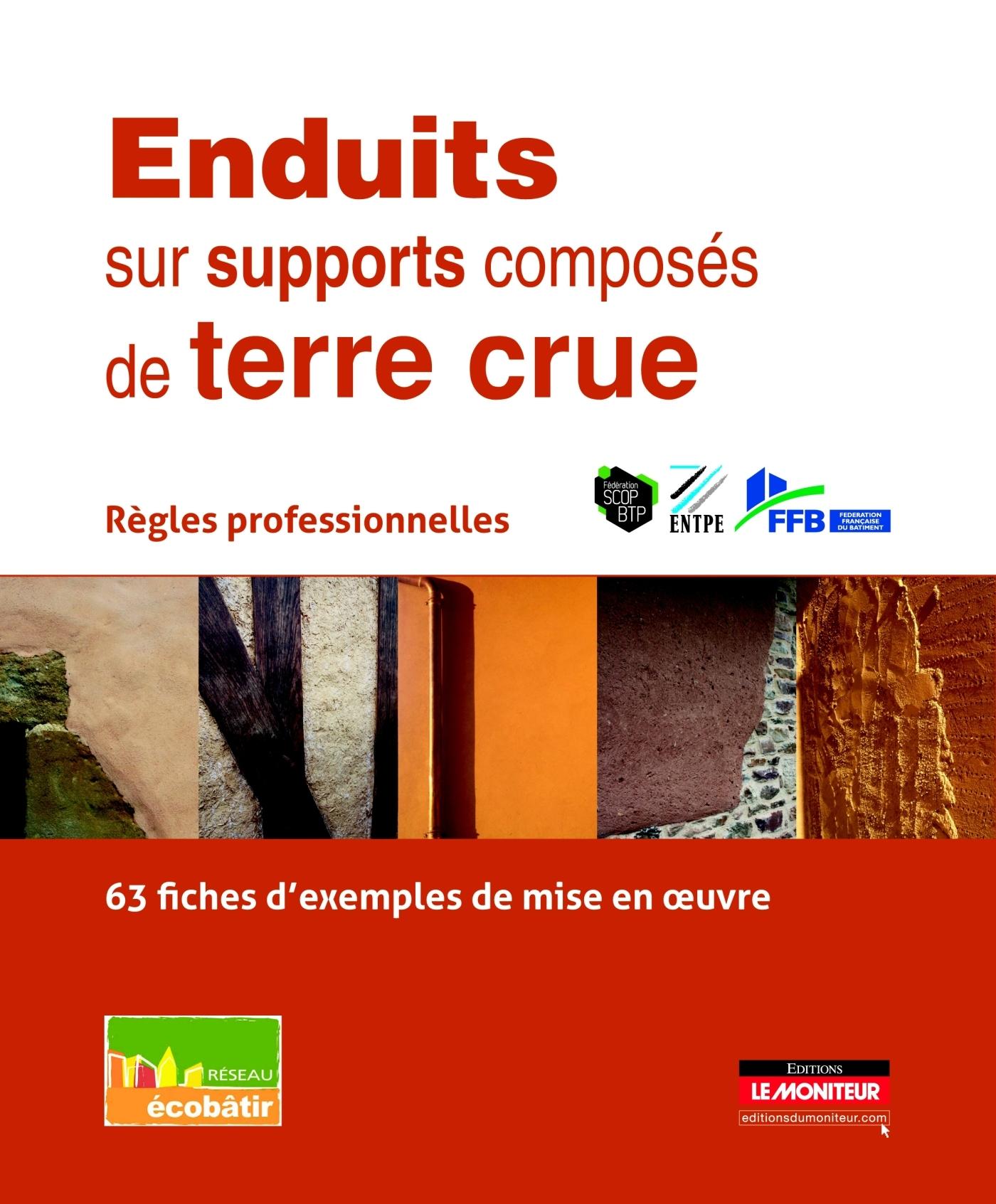 ENDUITS SUR SUPPORTS COMPOSES DE TERRE CRUE