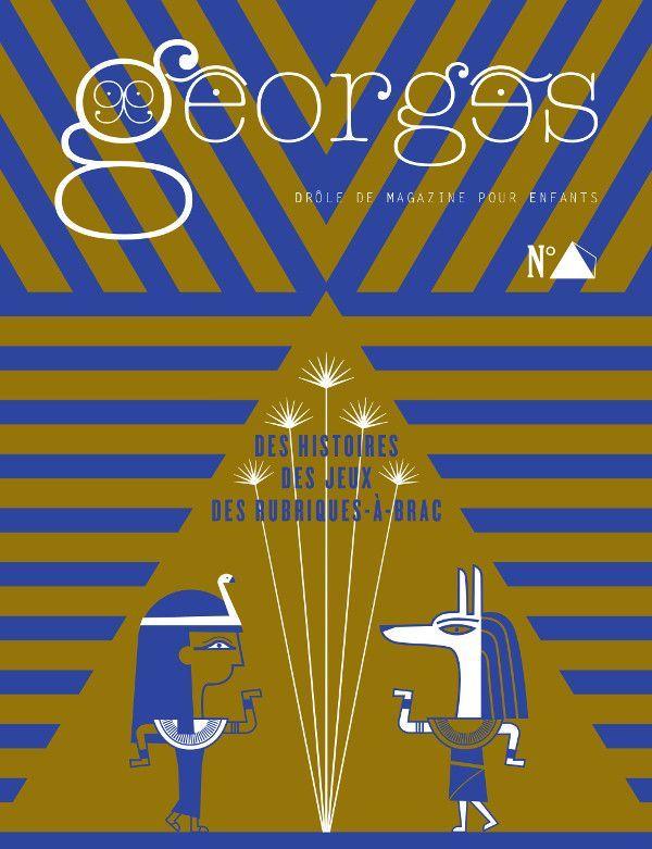 MAGAZINE GEORGES N 25 - PYRAMIDE