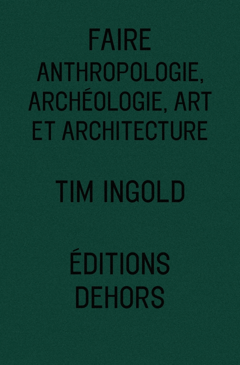 FAIRE - ANTHROPOLOGIE, ARCHEOLOGIE, ART ET ARCHITECTURE