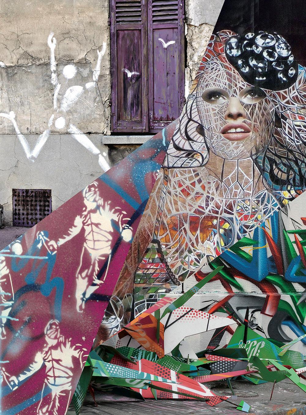 COFFRET L'ART SE RUE. LE STREET ART EN FRANCE DES PIONNIERS A LA NOUVELLE GARDE